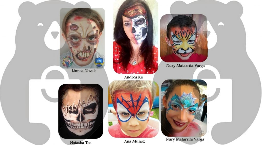 Another best face paint ideas for Halloween